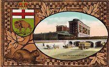 Winnipeg,Manitoba,Canada,Main Street,Subway,Trolley Car,Beaver,Border,c.1909
