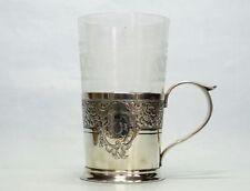 Supporto teeglas Francia ARGENTO 950 punziert Tea GLASS HOLDER