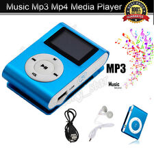 USB Clip MP3 Reproductor LCD Screen Musica medios Support 32GB Micro SD TF Card