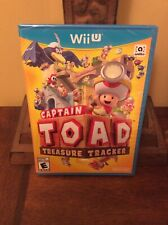 Captain Toad: Treasure Tracker (Nintendo Wii U, 2014) Brand New Factory Sealed