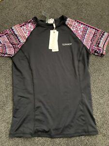 TOPANGA GIRLS Wet Shirt Size 14 RASHIE/ RASH VEST NEW with tags SWIMWEAR