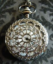 Steampunk Pocket Watch  Antique Color web Design