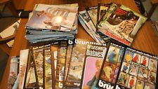 165 VINTAGE BRUNSWICK YARN PATTERN BOOKS ALL DIFFERENT KNITTING