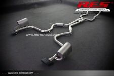 RES Valvtronic Catback +1 Tip Each Side FOR Benz R230 SL300 SL350 06-11 3.0/3.5