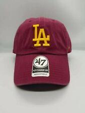 '47 CLEAN UP ADJUSTABLE HAT.   MLB.   LOS ANGELES DODGERS.