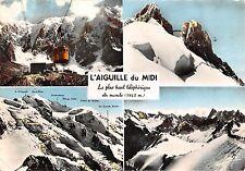 France Chamonix Mont Blanc L'Aiguille du Midi multiviews Cable car Berg