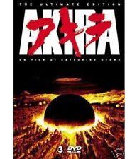 DVD AKIRA (3 dvd) di Otomo - ed.italiana con celophan