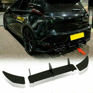 For Volkswagen Golf MK7 R 2014-2017 Rear Bumper Diffuser Lip Splitter Body Kit