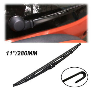 """11"""" Rear Windshield Wiper Blade Fit For BMW Z3 E36 Dodge Caliber Jeep Compass"""
