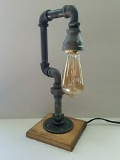 Retro Industrial Vintage Steampunk style Lamp with Nostalgic edison bulb