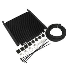 Universal 25 Row 8000 Series Aluminum Plate and Fin Transmission Oil Cooler BK