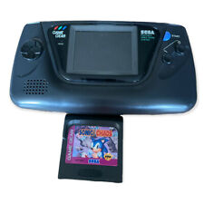 SEGA Game Gear Handheld Console 2110 & Sonic The Hedgehog *For Parts Or Repair*