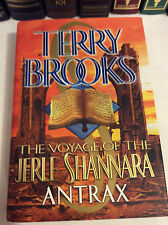 Antrax by Terry Brooks - Signed 1st/1st  The Voyage of the Jerle Shannara Book 2