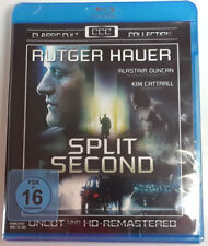 SPLIT SECOND New BLU-RAY Uncut HD Remastered 1992 Film Region-Free GERMAN Import