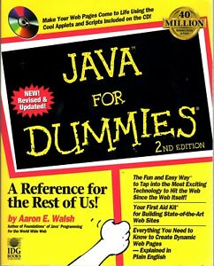 Java for Dummies   2nd Edition   by Aaron Walsh   © 1997