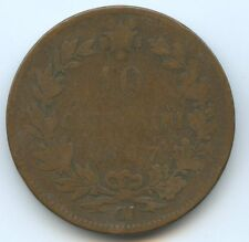 Italie Vittorio Emanuele II 10 Centesimi 1867 Strasbourg