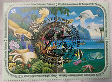 United Nations Stamps 1991 Scott Vienna 113a Block Of 4 Used