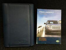 LAND ROVER FREELANDER 2 HANDBOOK OWNERS MANUAL WALLET 2006–2010 PACK L-515