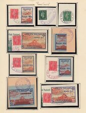 Stamps Polish forces in exile England x 50 planes, tanks military postmarks WW2