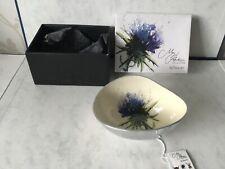 Fairtrade Recycled Aluminium Tilnar Art Thistle Bowl/Dish By Meg Hawkins