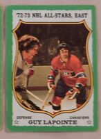 1973 Topps Guy Lapointe Montreal Canadiens #170 Hockey Card EX