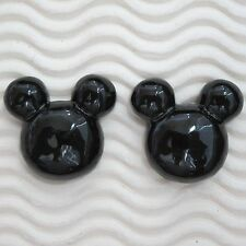 "USA SELLER - 10 pcs x 1"" Resin Flatback Mouse Head for Mickey/Minnie Craft SB572"