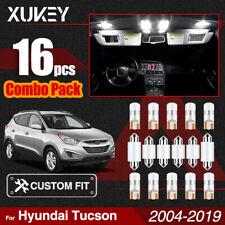 LED Light Kit For Hyundai Tucson 2004-2019 Interior Map Trunk Dome Bulbs Pack