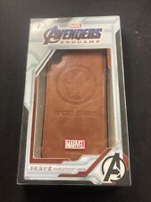 Marvel Avengers Endgame Iron Man Leather iPhone X/Xs Case Brand New High Quality