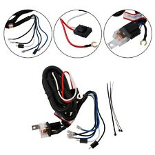 Car Electric Horn Relay Wiring Harness Kit 12V For Tone Grille Mount Blast Horns