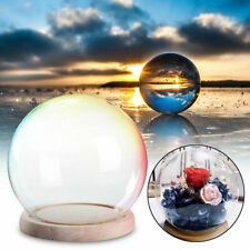 15CM Glass Stand Display Dome Cloche Globe Bell Jar Tealight Flower Cover Large
