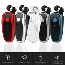 Wireless Bluetooth Retractable Headphones Earphones for i Phone XR 8 7 6 Samsung