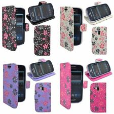 Custodie portafoglio rosa per Samsung Galaxy Mini