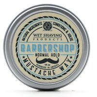 Mustache Wax (Barbershop) Regular Hold by WSP - 1 oz Natural & Vegetarian