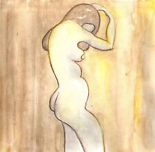 NATURAL BEAUTY WOMAN NUDE - STICKYKITTIES ART GALLERY ORIGINAL PAINTINGS eBay