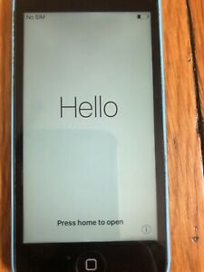 Apple iPhone 5c - 32GB - Blue (AT&T) Unlocked