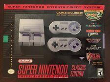 NEW Super Nintendo: SNES Mini Classic Edition