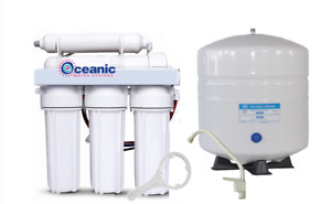 Oceanic Home Pure Reverse Osmosis RO Water Filter System 5 Stage 75 GPD | USA
