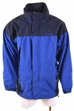 TIMBERLAND Mens Windbreaker Jacket Size 42 XL Blue Nylon  AG20