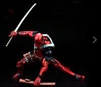 Deadpool Yamaguchi Style Figurine Jouet  Model Collection15cm ac/les accessoi rE