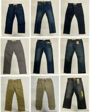 Brand New with Tag Levi's Kids Big Boys (8-20) Jeans Multiple Sizes Lots Deal