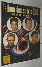 MIROIR SPRINT ALBUM SPORTS 1956 BOBET ANQUETIL KOPA STADE REIMS RUGBY BOXE