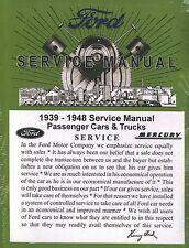 1939 40 41 42 43 44 45 46 47 48 49 FORD/MERCURY CAR SHOP MANUAL