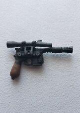 STAR WARS BLACK SERIES 6 INCH BLASTER GUN YOUNG HAN SOLO 1:12 FOR CUSTOM FIGURES