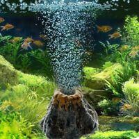 Aquarium Vulkan Form & Luftblase Stein Sauerstoffpumpe Aquarium Ornament
