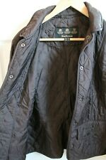 BARBOUR WOMENS LIGHT QUILTED JACKET SIZE UK 16, EURO 42