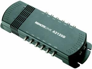 ANTIFERENCE A2120D IR Pass F-TYPE 12 WAY DISTRIBUTION AMPLIFIER LTE 8dB