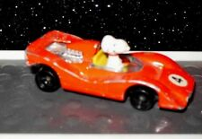 VINTAGE Aviva SNOOPY CAR RACECAR United Feature Syndicate Toy 1958 JAPAN Peanuts