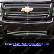 Fits 2006-2009 Chevy Trailblazer LT Billet Grille Combo
