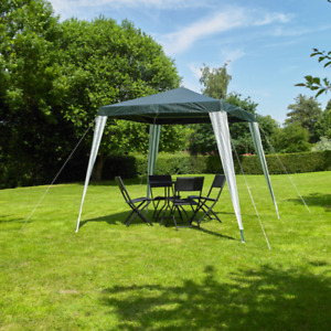 Kingfisher 2.4m Gazebo Party Tent BBQ Garden Canopy Marquee Waterproof Outdoor