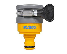 Hozelock 2176 Round Tap Connector Indoor outdoor Garden Hose Pipe Adaptor
